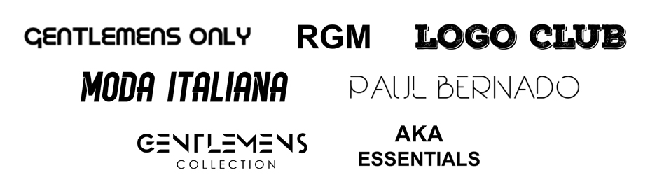 Brands of Classic Mens Wear